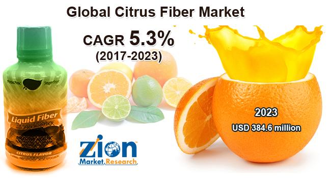 Citrus Fiber Market