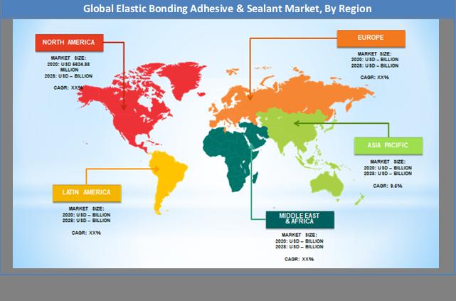 Global Elastic Bonding Adhesive & Sealant Market Regional Analysis